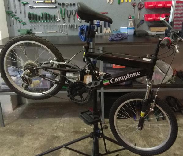 Pregled i servis dječje bicikle