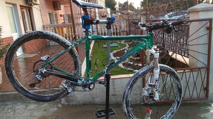 Pranje bicikle